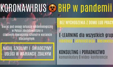 BHP, a koronawirus i okres epidemii